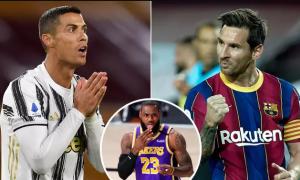 Messi bất ngờ vượt Ronaldo về giá trị thương mại