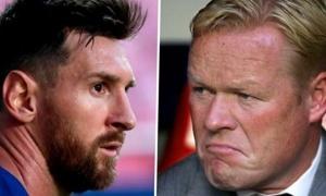 Messi muốn chấm dứt 'nội chiến', Koeman nói luôn 1 lời