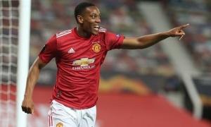 Martial trải lòng về tấm thẻ đỏ tai hại khiến M.U thua thảm Tottenham