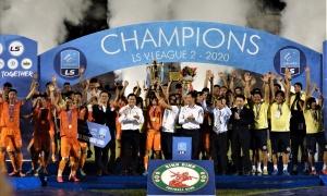 CHÍNH THỨC: Xác định tân binh của V-League 2021