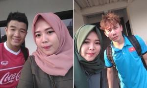 Cô gái người Indonesia hâm mộ Đức Chinh và U23 Việt Nam