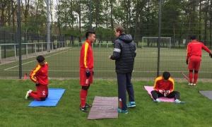 HLV Hoàng Anh Tuấn nhận 'hung tin' ở Đức