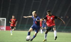 U22 Thái Lan thắng tối thiểu U22 Timor Leste