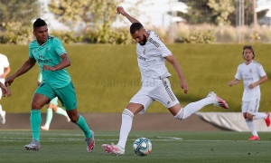 Hình ảnh mới nhất từ buổi đấu tập của Real Madrid