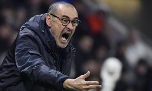 Thua Lyon, Sarri chỉ trích cầu thủ Juve 'chậm hiểu'