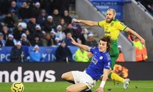 SỐC! Pukki đã gãy ngón chân ở trận hòa Leicester
