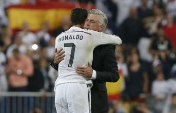 Ancelotti gửi lời chúc đặc biệt tới Real và Ronaldo