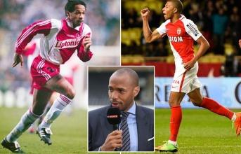 Thierry Henry nói gì về truyền nhân Kylian Mbappe?