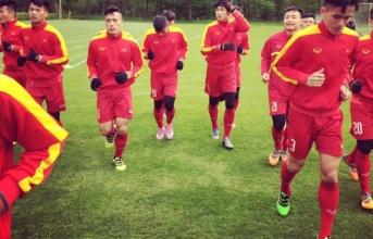 U20 Việt Nam sẵn sàng trước trận đấu với CLB Hà Lan