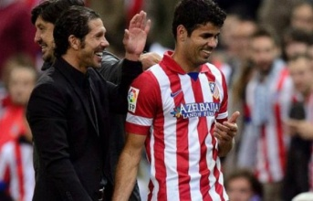Atletico có thưc mặn mà với người cũ Diego Costa?