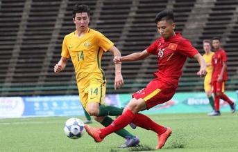 Chênh lệch trình độ, U16 Việt Nam nhận thất bại trước người Úc