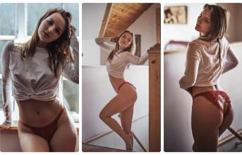 Vivian H - Siêu mẫu ngực trần say đắm Bồ Đào Nha