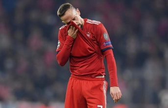 Tức giận, Ribery chửi cả gia phả các anti-fan