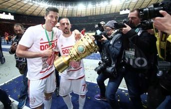 Hậu trận CK cúp quốc gia: 'Người vĩ đại' Ribery, kỷ lục gọi tên Lewy