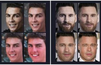 Cười vỡ bụng với loạt ảnh 'biến hóa' các siêu sao bóng đá