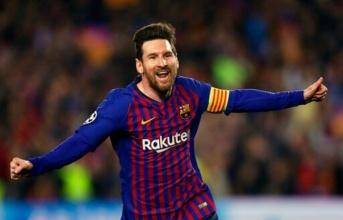 Thêm một cột mốc nữa trong lịch sử Barcelona đang chờ đợi Messi