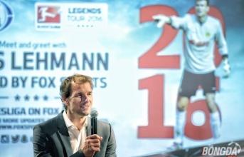 Huyền thoại Jens Lehmann muốn Bundesliga lan tỏa hơn ở Việt Nam