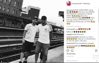 Suarez, Puyol, Neymar gửi lời chúc sinh nhật đến Messi
