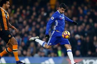 Chùm ảnh: Chelsea dễ dàng hạ gục Hull City trên sân nhà
