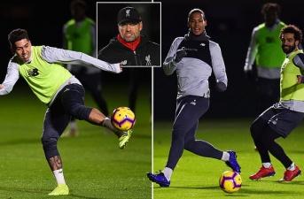Klopp ra chỉ thị, cầu thủ Liverpool cật lực tập trong đêm