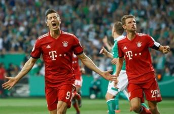 Highlights: Bremen 2-3 Bayern Munich (Cúp Quốc gia Đức)