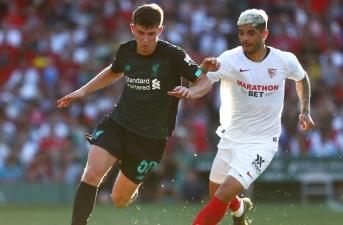 Highlighs: Liverpool 1-2 Sevilla (Giao hữu)