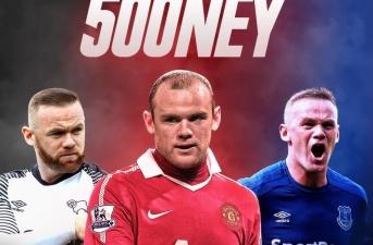 Wayne Rooney ghi bàn kiểu Panenka ở trận thứ 500 tại Anh