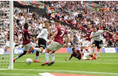 TRỰC TIẾP Aston Villa 2-1 Derby County: Thất bại cho đoàn quân Lampard (KT)