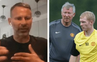 """Giggs tiết lộ """"mối bất hòa"""" giữa Sir Alex Ferguson và Paul Scholes"""