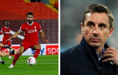 """Gary Neville: """"Salah có hành động quá ích kỷ"""""""