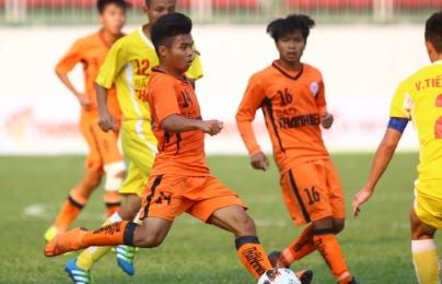 """""""Tiểu Công Phượng"""" tắt điện, U19 SHB Đà Nẵng nhường vé vào chung kết cho U19 Hà Nội"""