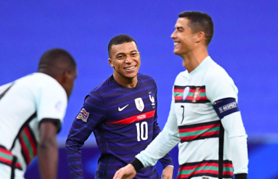 """Mbappe gọi Ronaldo là """"idol"""" sau trận Pháp - Bồ Đào Nha"""