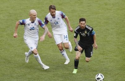 Cầm hòa Argentina, Iceland chiếm được nhiều tình cảm của fan trung lập