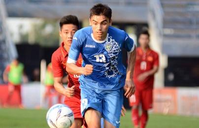 Không lộ bài, Uzbekistan vẫn từng thắng Việt Nam 2-1