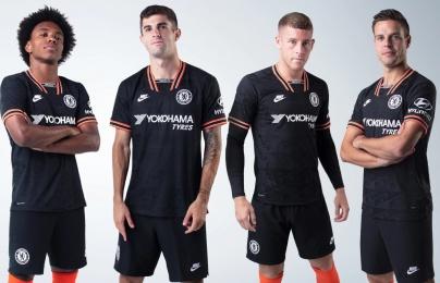 Chelsea và Nike tung ra mẫu áo đấu thứ ba mùa giải 2019/2020 cực chất