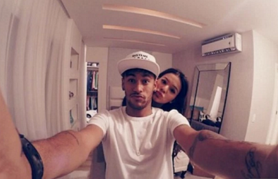 Neymar 'tái hợp' với bạn gái cũ