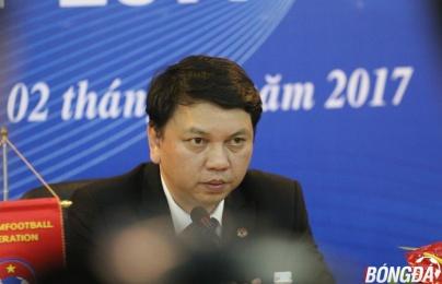 Tổng thư kí Lê Hoài Anh nói gì về ghế chủ tịch VFF?