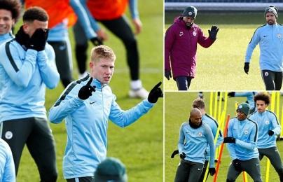 Tập cật lực, Man City sẵn sàng hủy diệt Champions League