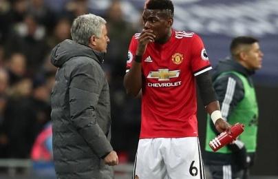 Mourinho nói gì khi Pogba bị loại khỏi trận Huddersfield Town?