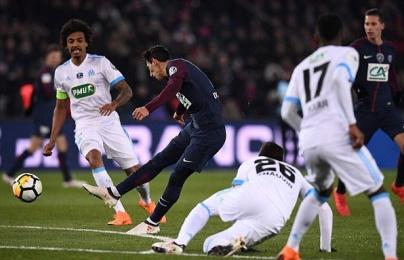 Hủy diệt Marseille, PSG ghi tên vào bán kết cúp quốc gia Pháp