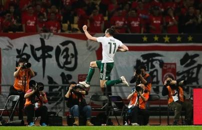 Vượt Ian Rush, Gareth Bale làm nên lịch sử ở xứ Wales