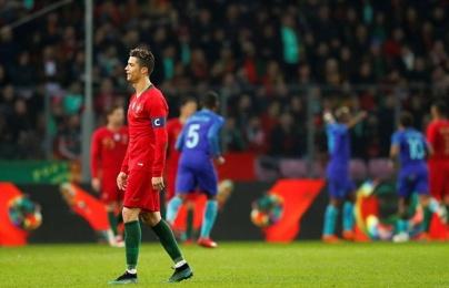 Ronaldo và các đồng đội thua thảm trước sức trẻ của Hà Lan