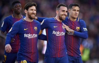Top 5 CLB kiếm điểm sân khách nhiều nhất mùa này: Barca chỉ xếp thứ 4