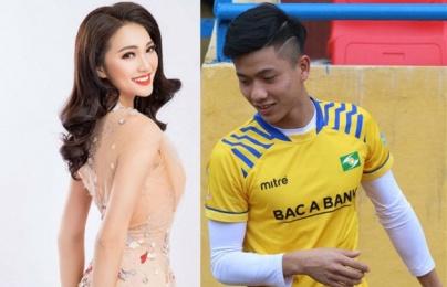 """""""Hotboy"""" U23 Việt Nam lên tiếng về tin đồn yêu Ngọc Nữ"""