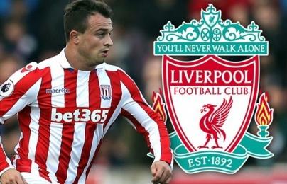 Xherdan Shaqiri đồng ý gia nhập Liverpool trước khi Pep Guardiola
