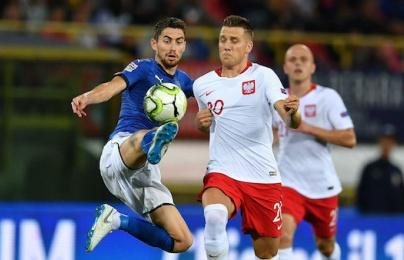 Highlights: Italia 1-1 Ba Lan (UEFA Nations League)