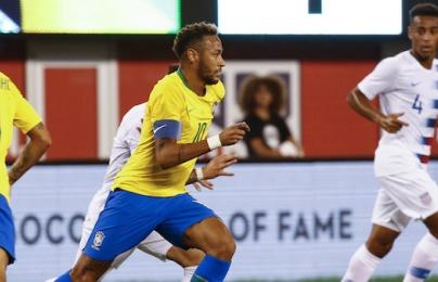Highlights: Mỹ 0-2 Brazil (Giao hữu quốc tế)