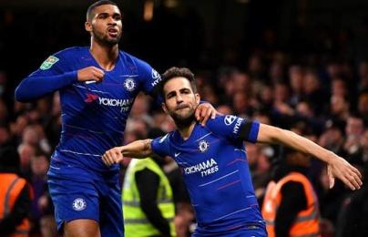 Highlights: Chelsea 3-2 Derby County (Cúp liên đoàn Anh)