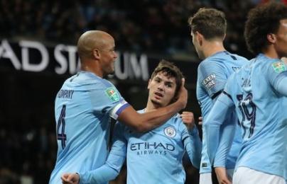 Highlights: Manchester City 2-0 Fulham (Cúp liên đoàn Anh)