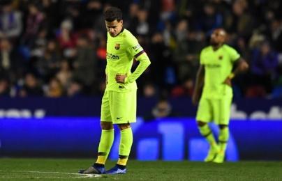 Highlights: Levante 2-1 Barcelona (Cúp nhà Vua TBN)